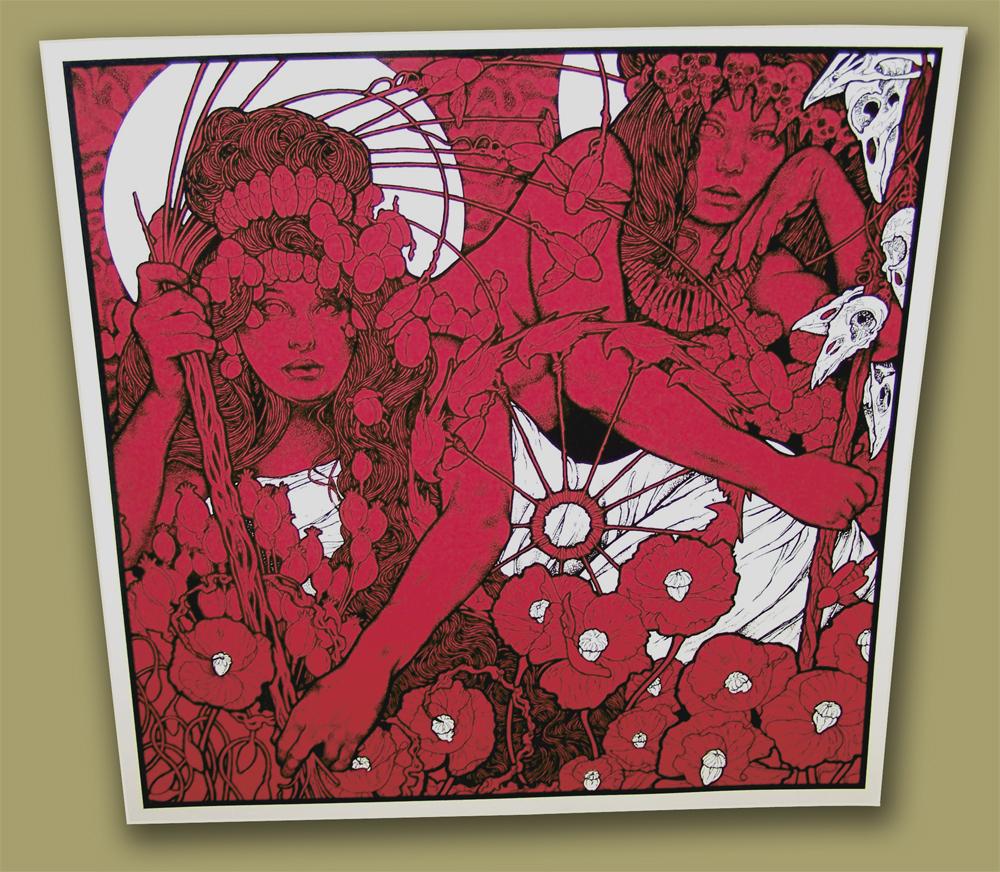 poster in zeefdruk voor Baroness