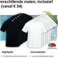 Mooie aanbieding hoor… Shirts duurder dan normaal, verkoopt als een gek…