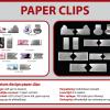 Paperclips met uw logo; kies uit 7 modellen!