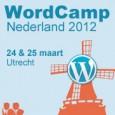 WordCamp 2012 op 24 én 25 maart aanstaande, Utrecht!