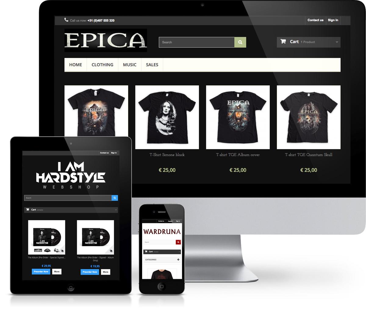 MerchPlanet webwinkels
