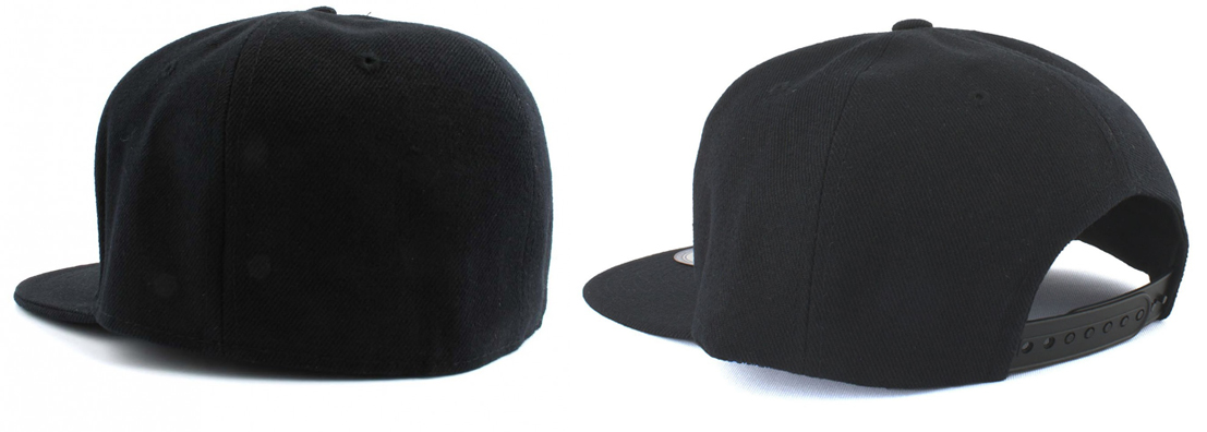 fitted en snapback caps