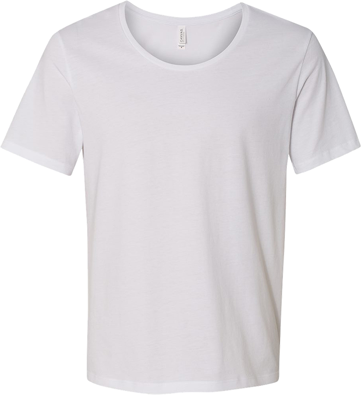 Bella wide neck spun t-shirt