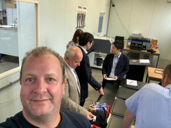 Selfie met de Roland Delegatie