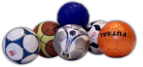 voetballen met eigen logo bedrukt